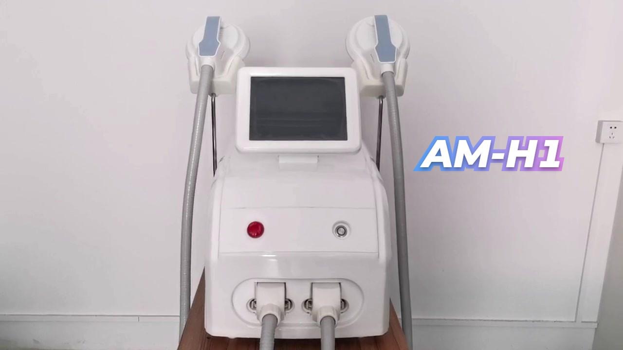 体を彫刻する太い脂肪腐敗と美しい筋肉機械AM-H1を燃やす