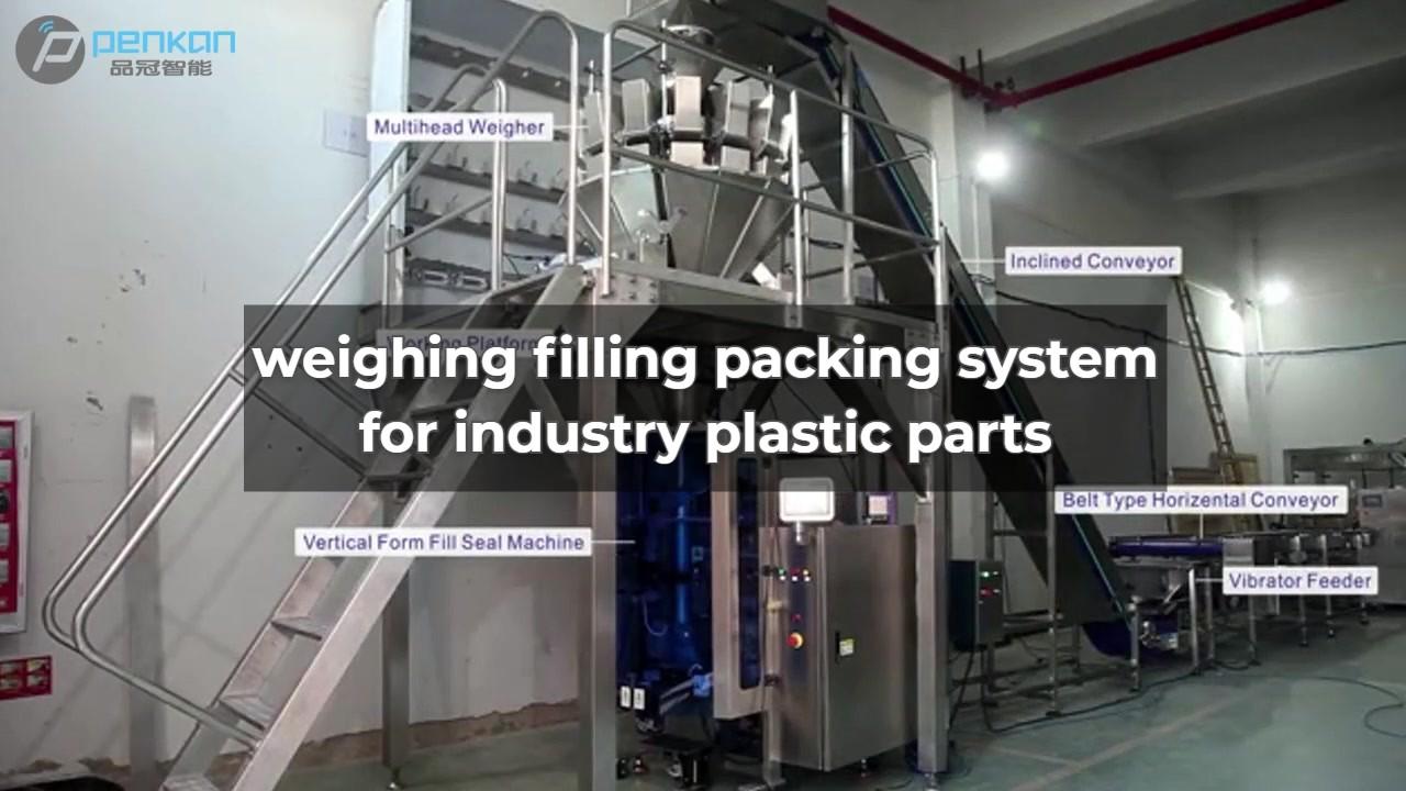 BestQuality otomatis menimbang multihead timbangan untuk kemasan makanan mesin cuci bubuk kemasan Pabrik