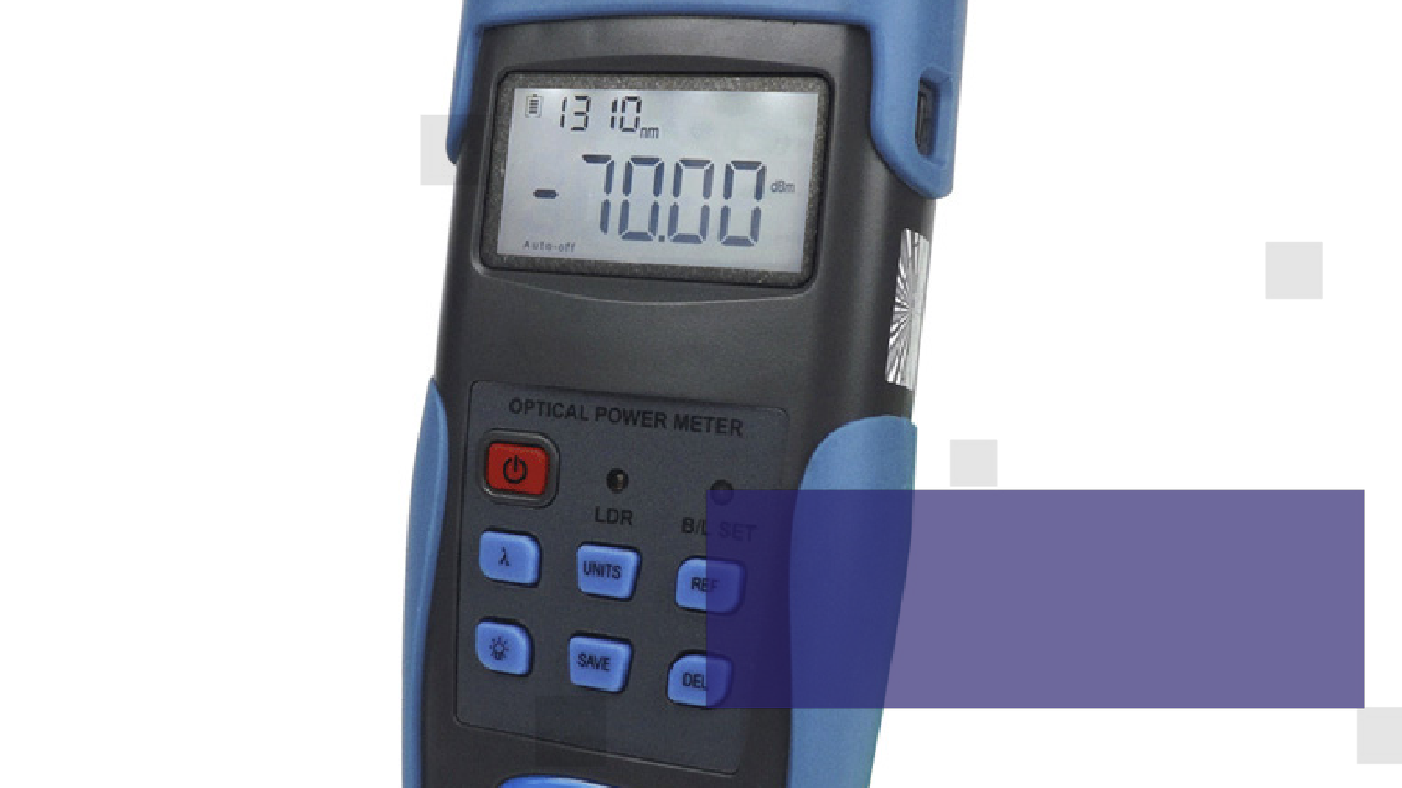 FOT3216 Fiber Optic Power Meter-FOT