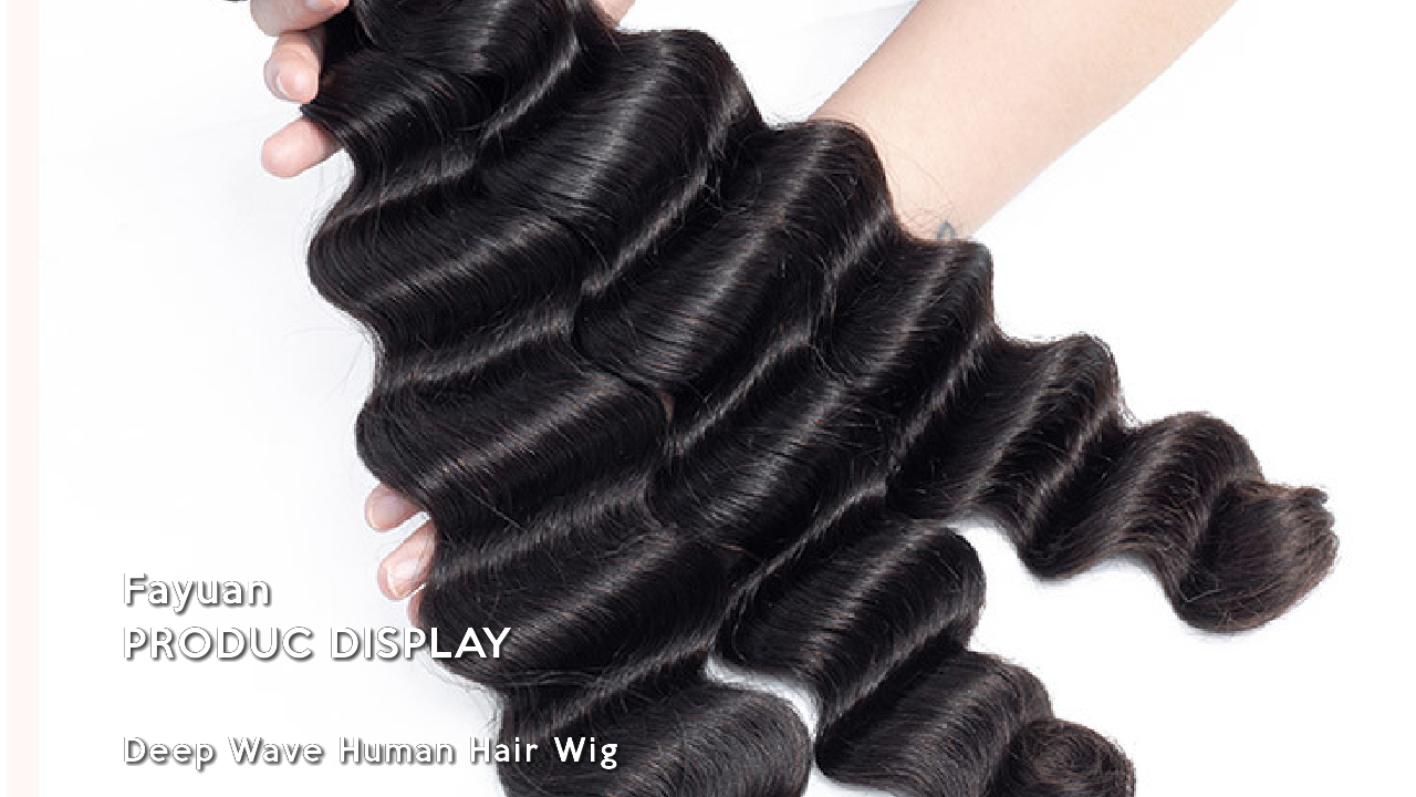 Deep Wave Human Hair Wig On Fayuan