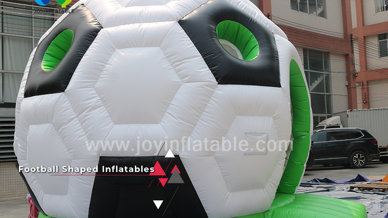 Soccer Ball Inflatable Bounce House For Kids
