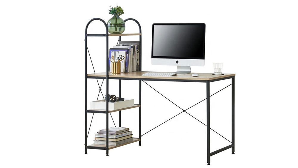 Commercial Furniture General Use and Computer Specific Used White MDF Computer Desk Wholesale