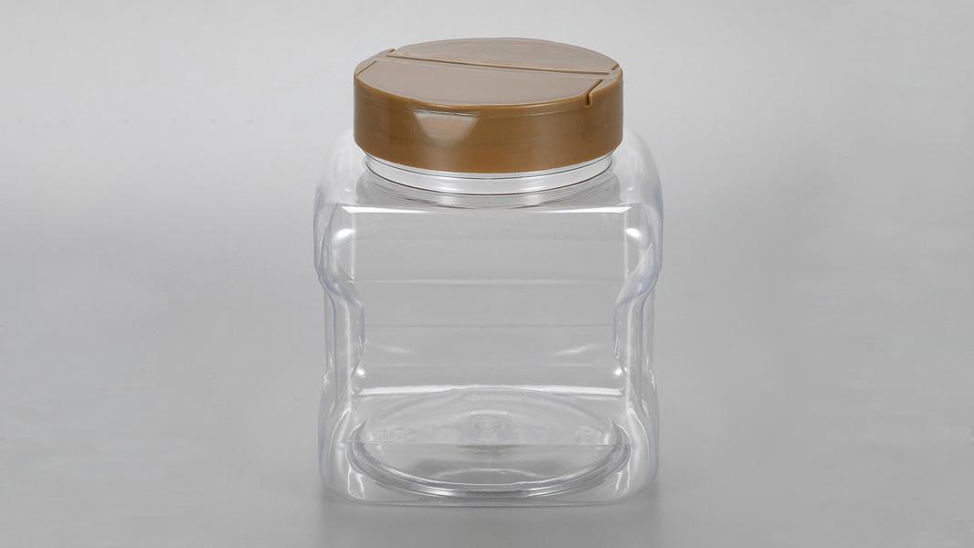 थोक 500 मिलीलीटर पीईटी प्लास्टिक मसाला जार / कंटेनर खाद्य ग्रेड