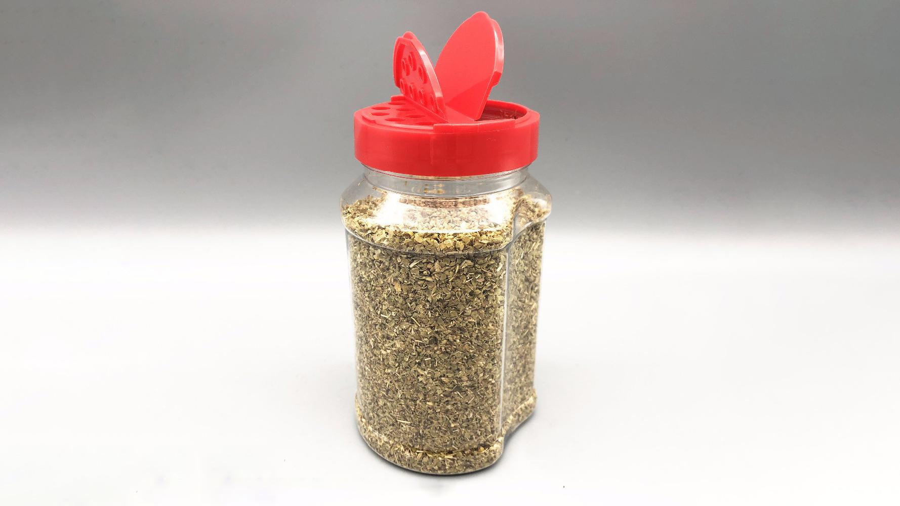 Bottiglia in plastica per agitatore di spezie da 500 ml per curry in polvere 1 acquirente