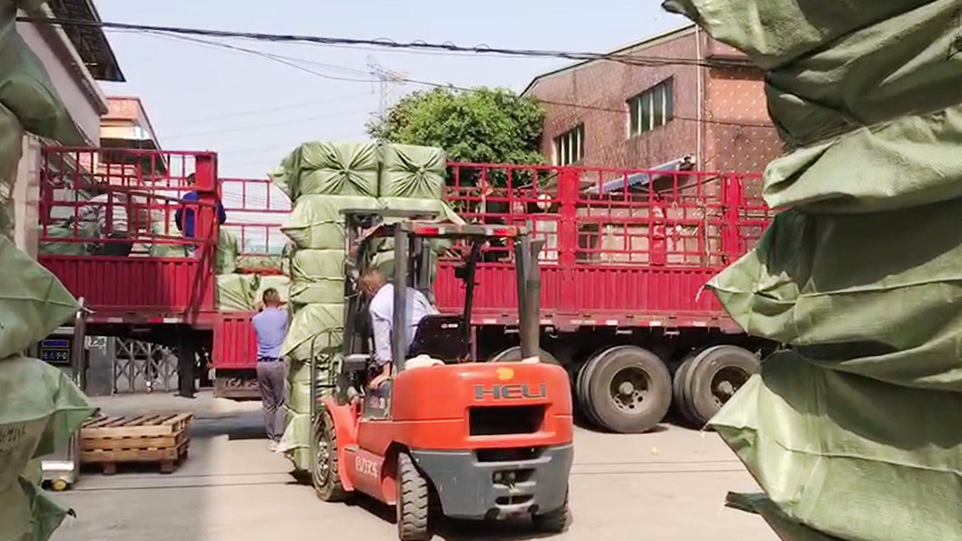 Kauba järele jõudmine enne aastat, logistika kohaletoimetamine