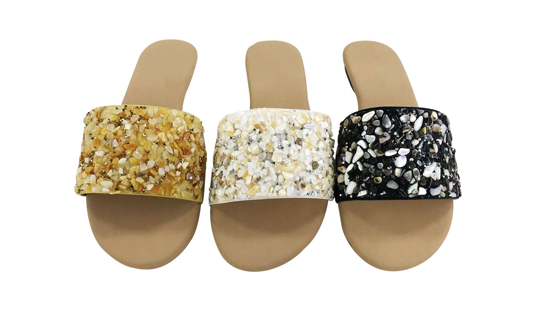 Women Stone Slipper