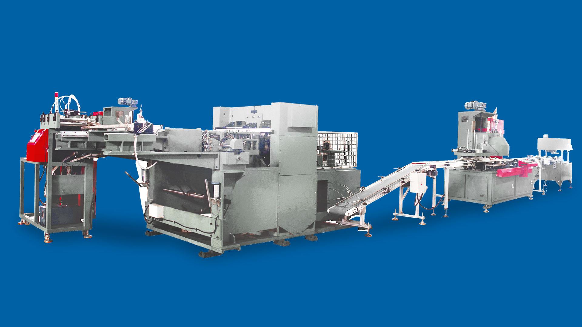 265 Round Biscuit Can Production Line In Indonesia Market