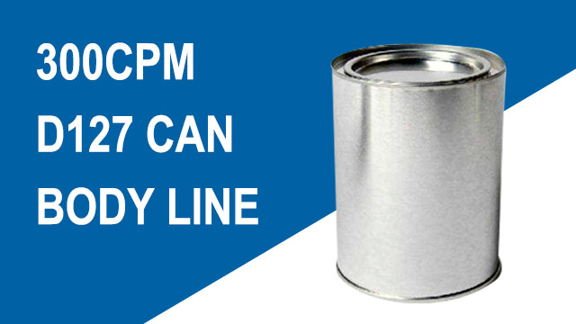 3-Piece Can Body Line From Can Making Machine Supplier