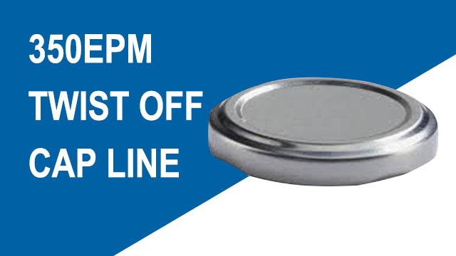 350EPM Fully-auto Twist Off Can Cap CNC Sheet Feed Press Line