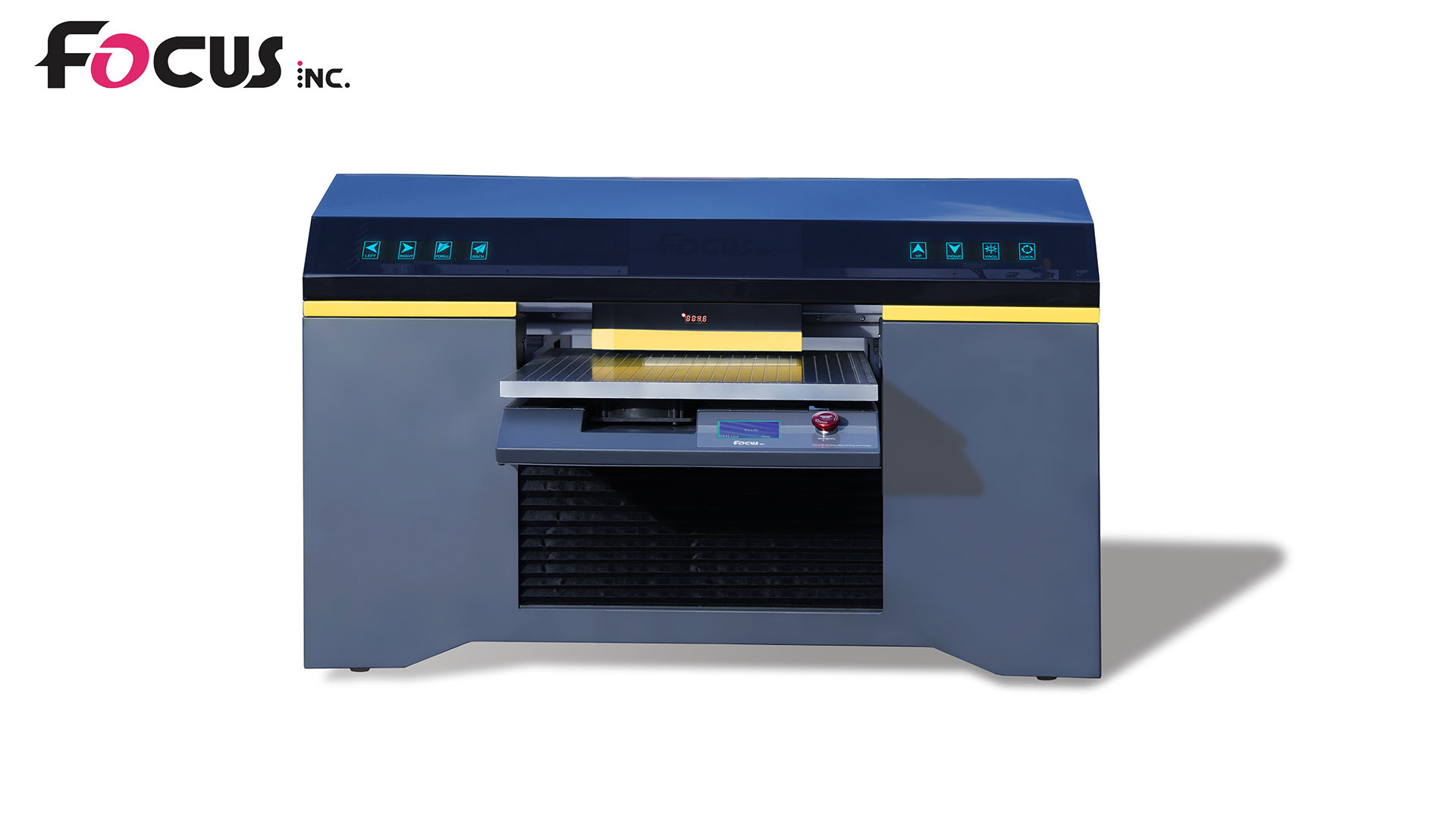 A2 UV LED Flatbed Printers Alpha Jet Plus Model Hot Sale