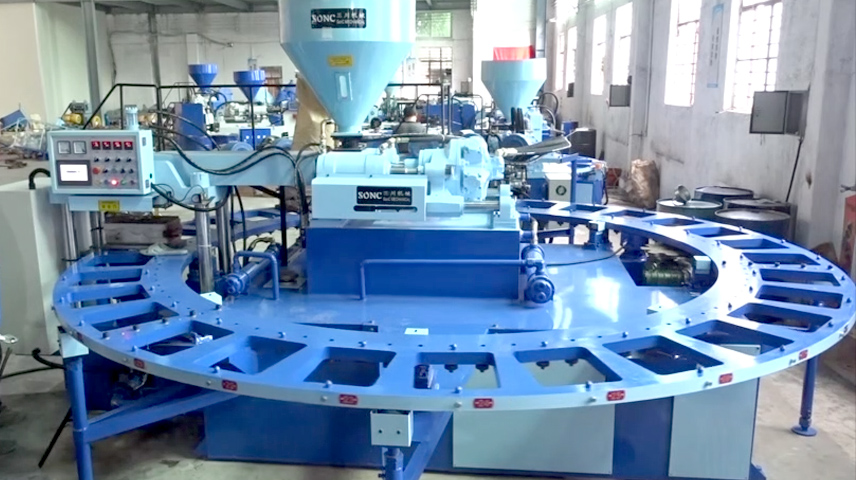 30 position PVC blowing injection molding machine