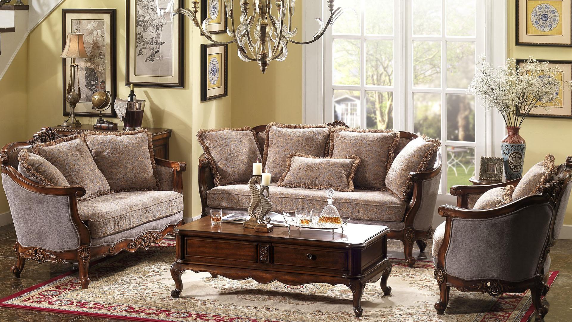 Fabric sofas, wholesale birch wood and fabric sofas Goodwin GF42