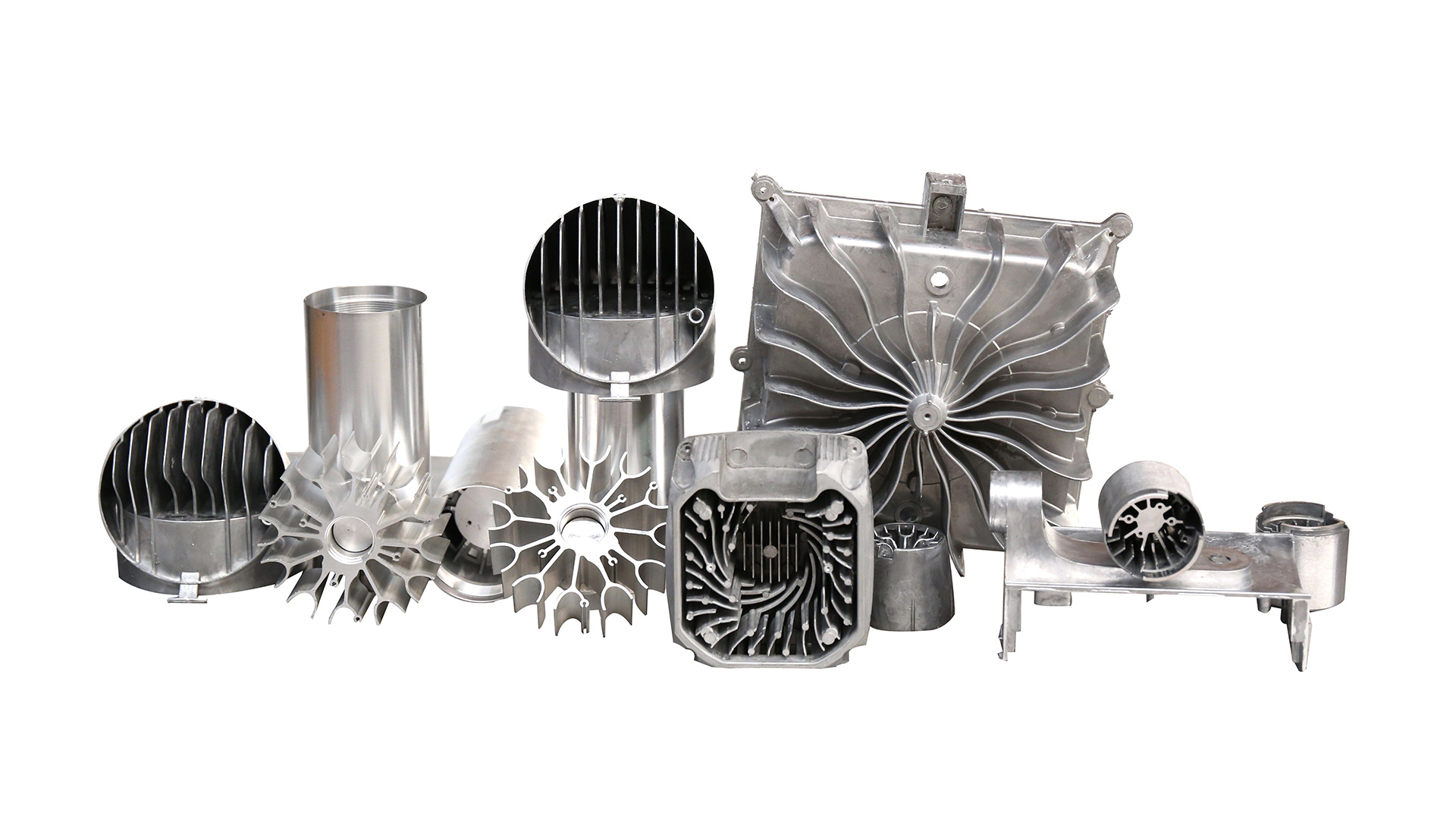 Die Casting Radiator For LED Lamps