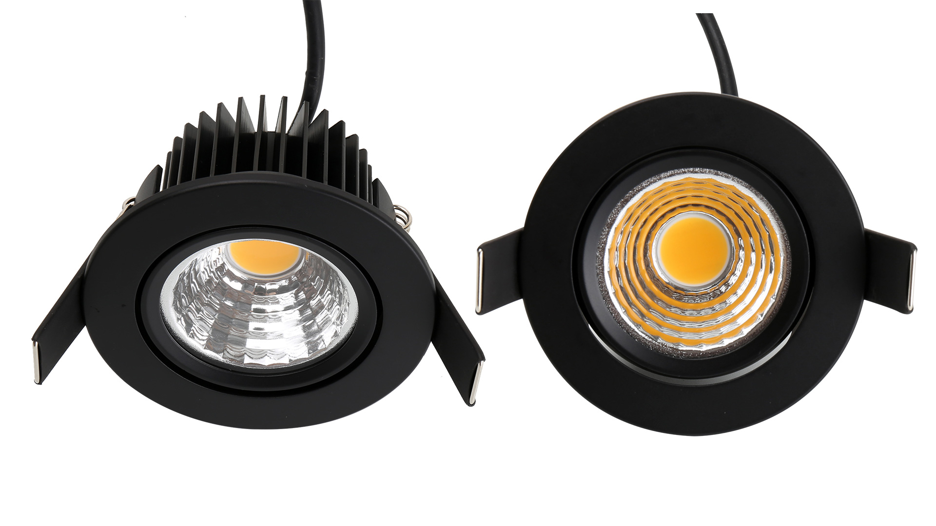 Roterende kleine downlight 05002