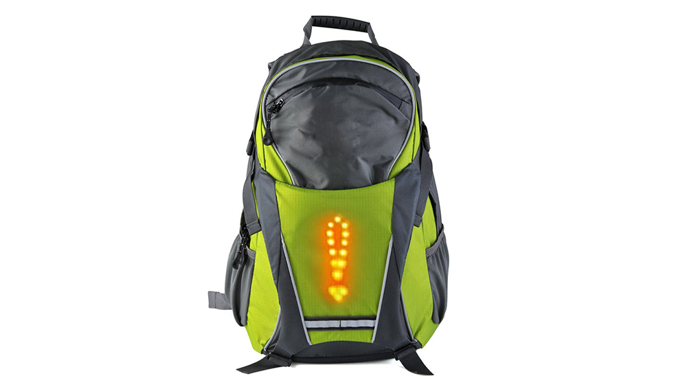 LED Turn signal Bicycle bag & vest