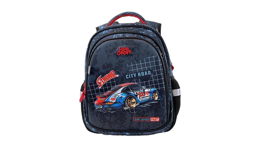 Racing car design russian school Backpack Kids Backpack School Backpack Bookbag for School usual 2041