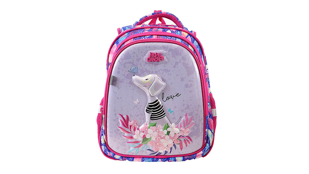 Fashion Colourful School Backpack for Girls Children Carton Shoulder Daypack 2049