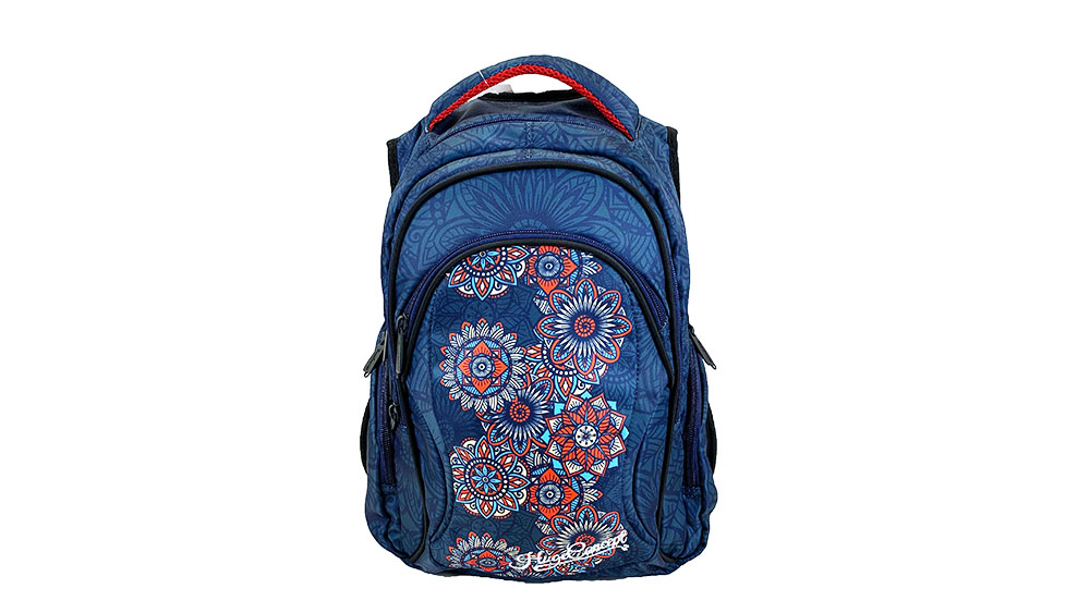 Fashion Retro style Printing Backpack For Children School Backpack For Student 2004