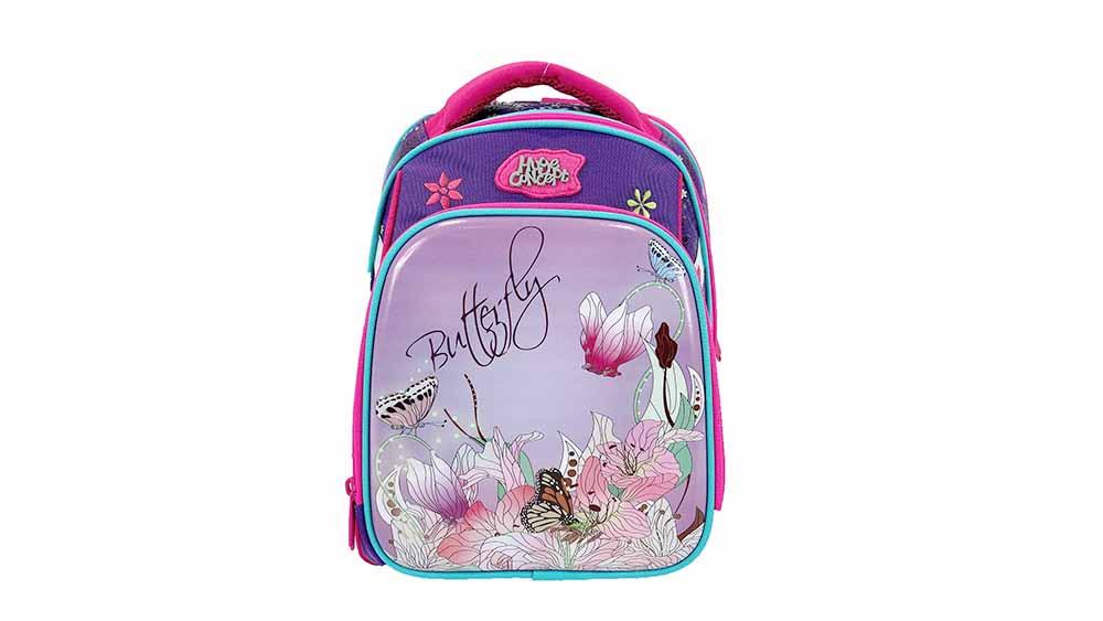 Sac à dos scolaire floral 3D Cartoon Pink Bookbag Outdoor Daypack 2020