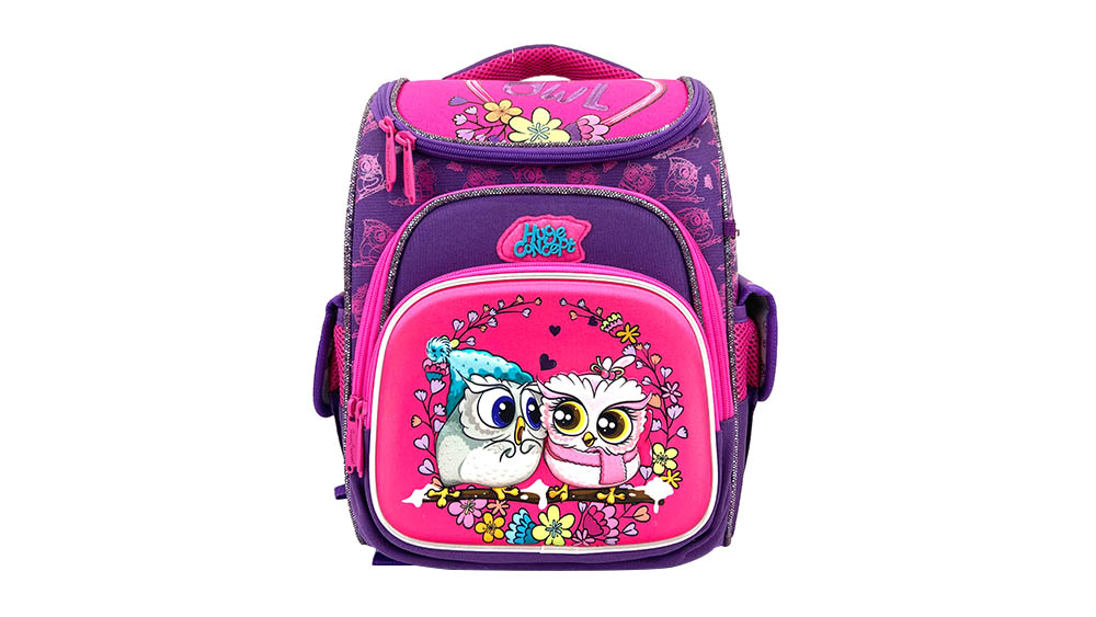 Fashion Cartoon Car Backpack for Children School Backpack Polyester Boys Zipper & Hasp Soft Handle BTS-2031