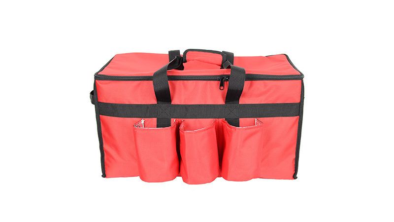 Large Capacity Waterproof Bike Cooler Bag Motorcycle Pizza Insulated Bags Food Delivery