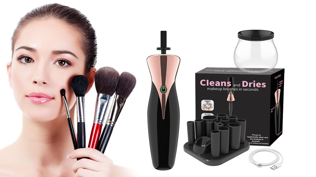 IF-826 Best Electric Makeup Brush Cleaner Wholesale