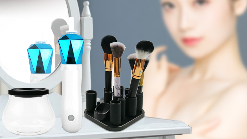 IF-829 832 Bi-Directional Automatic Makeup Brush Cleaner and Dryer