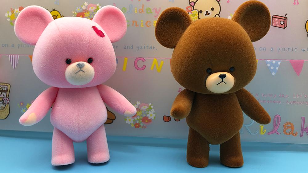 Meilleur tremblotage brun ours brun floconnant amour aluminium bear flocage animal de compagnie flocage animal fournisseur