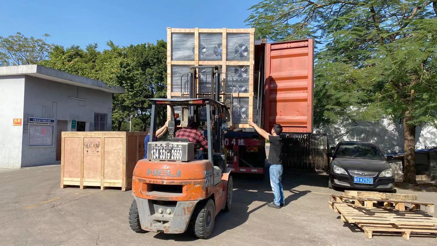 Food Drying Machine Package and Transportation