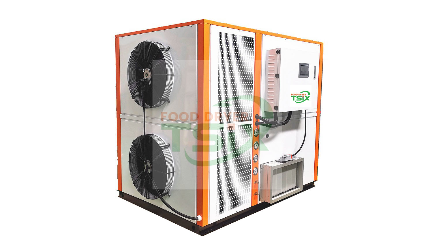 300kg Hot Air Vegetable Dehydrator to Dehydrate Carrot Chilli Tomatto Broccoli DPHG050S-G manufacturers-Twesix