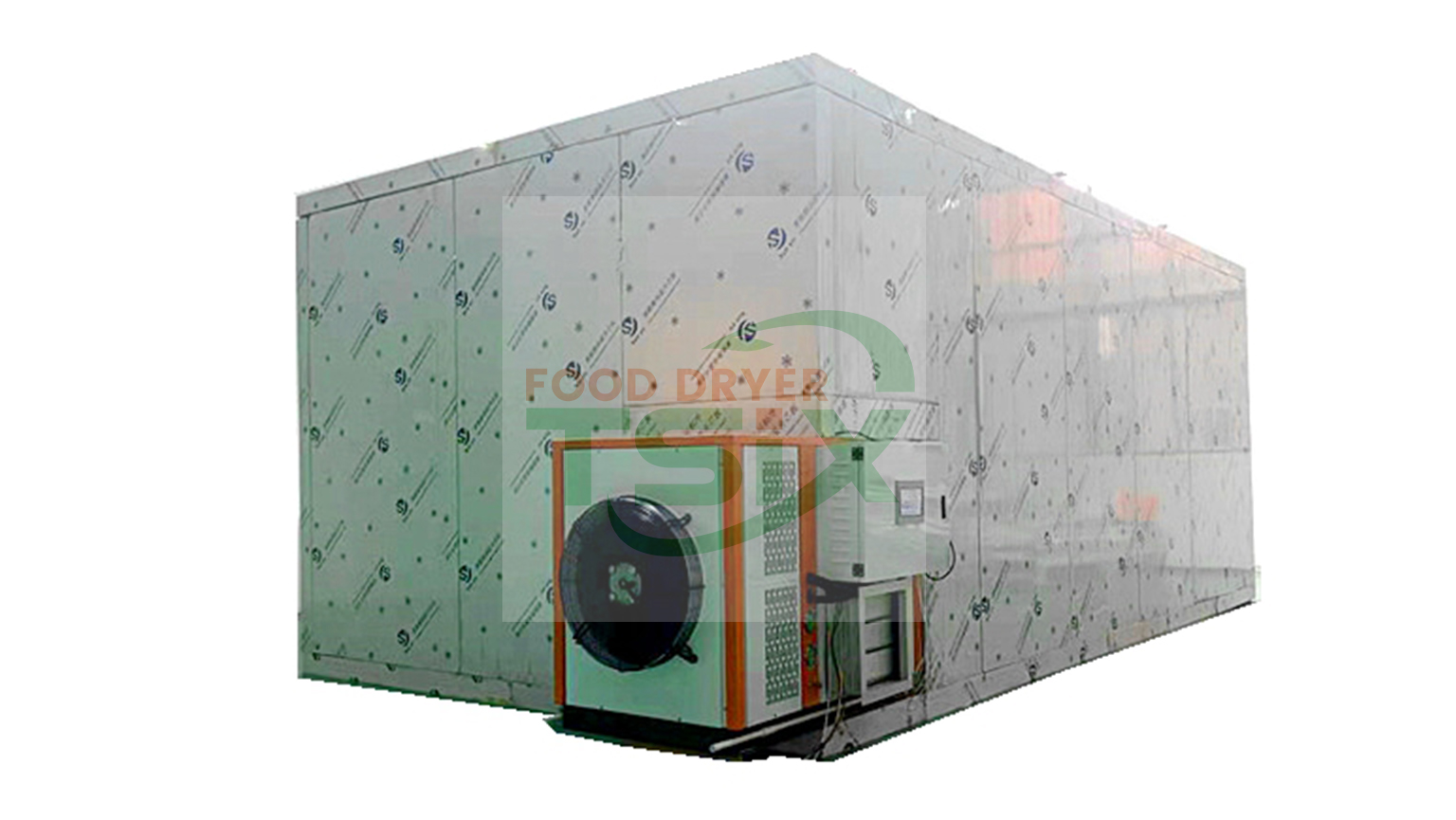 500kg Ginger Drying Machine Commercial Vegetable Drying Machine -DPHG050S-G