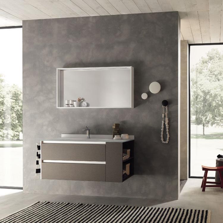 Cheap Bathroom Vanity PVC Bathroom Wash Cabinet with Low Price French Bathroom Vanity
