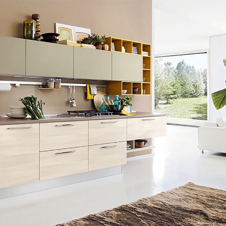 Affordable Customized Modern Solid Wood Kitchen Cabinet