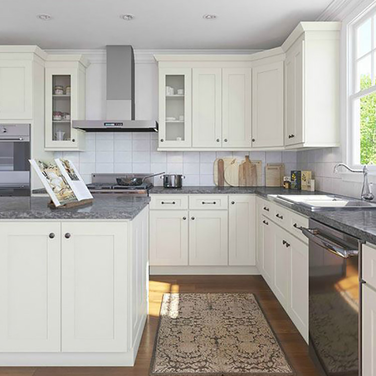 Affordable Price KitchenHigh Glossy White Cabinet For Customized