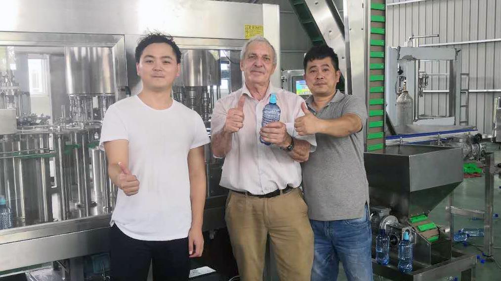 Production Line Of Fruit Juice Aerated Beverage Botswana customers
