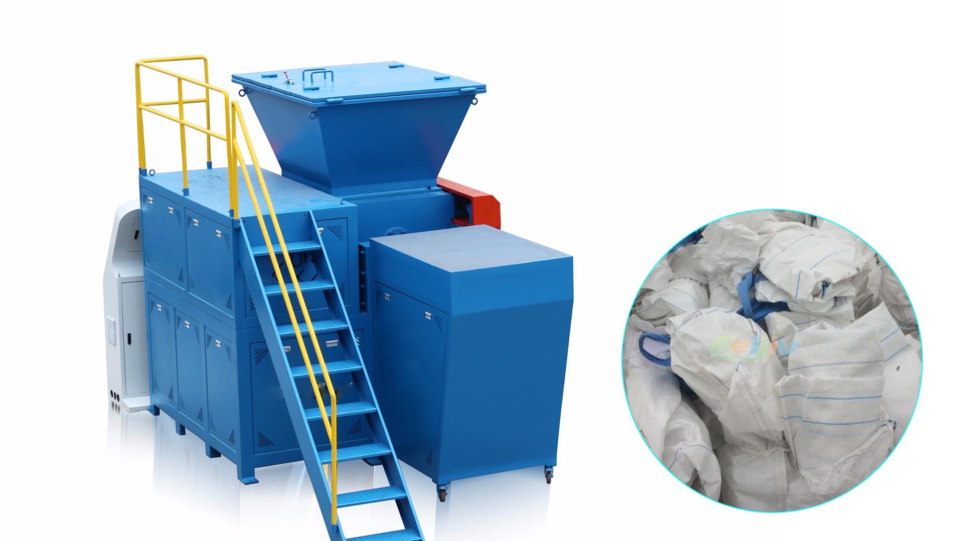 Professional Best Waste PP Bags Jumbo Bags Ton Bags Plastic Shredder Machine Factory Price-Elant manufacturers