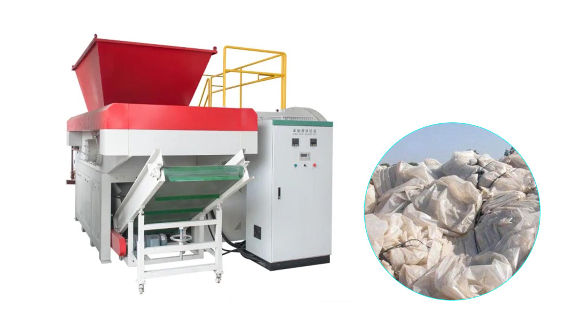 Professional LDPE films agricultural films shredder machine manufacturers