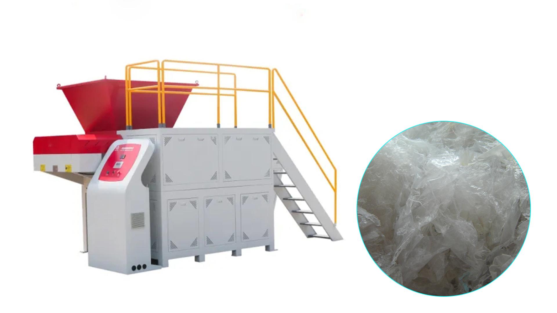 Professional Plastic PP PE LDPE films shredder machine manufacturers