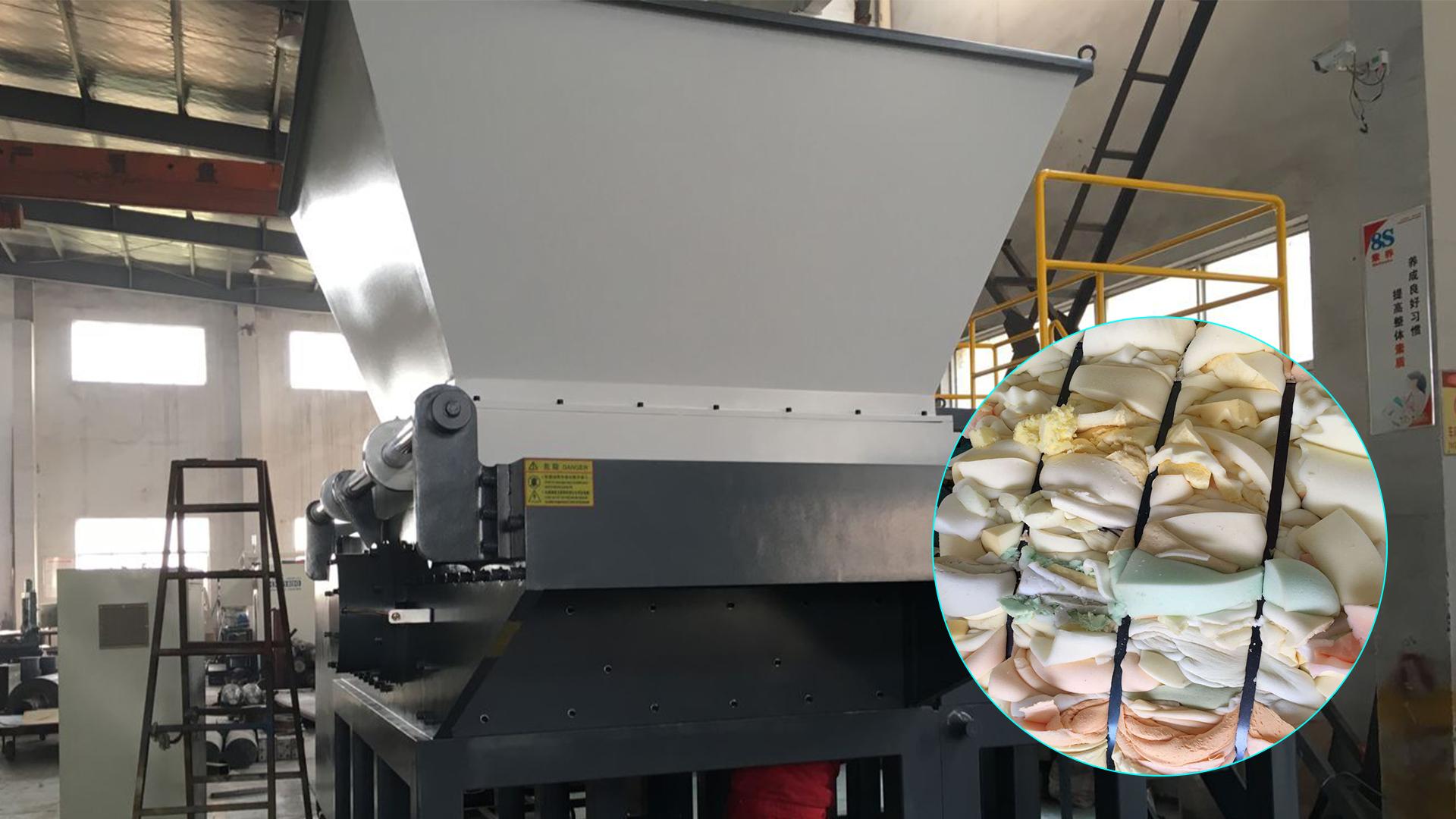 Best PU Foams shredder machine Supplier