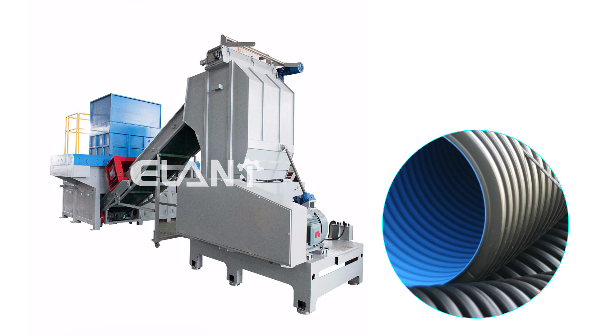 Customized Heavy duty plastic shredder machine manufacturers From China