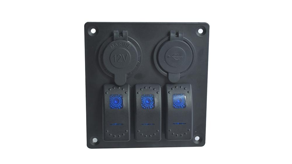 Best Aluminum Rocker Switch Panel L3S2 Supplier