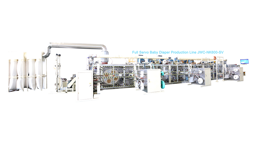 HighQuality I Shape Baby Diaper Machine Wholesale-JWC Machinery