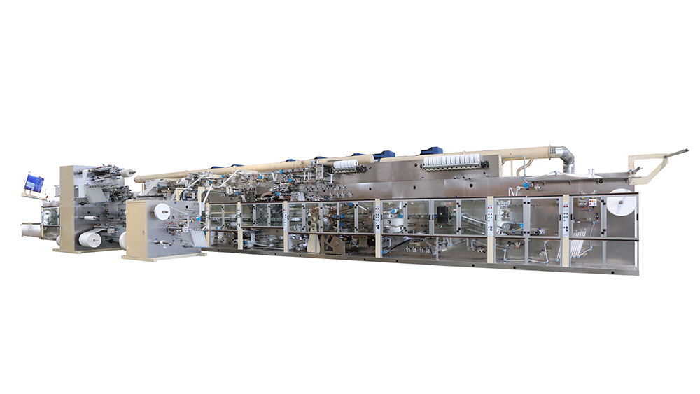 Full Elastic Waistband Baby Diaper Machine-JWC Machinery