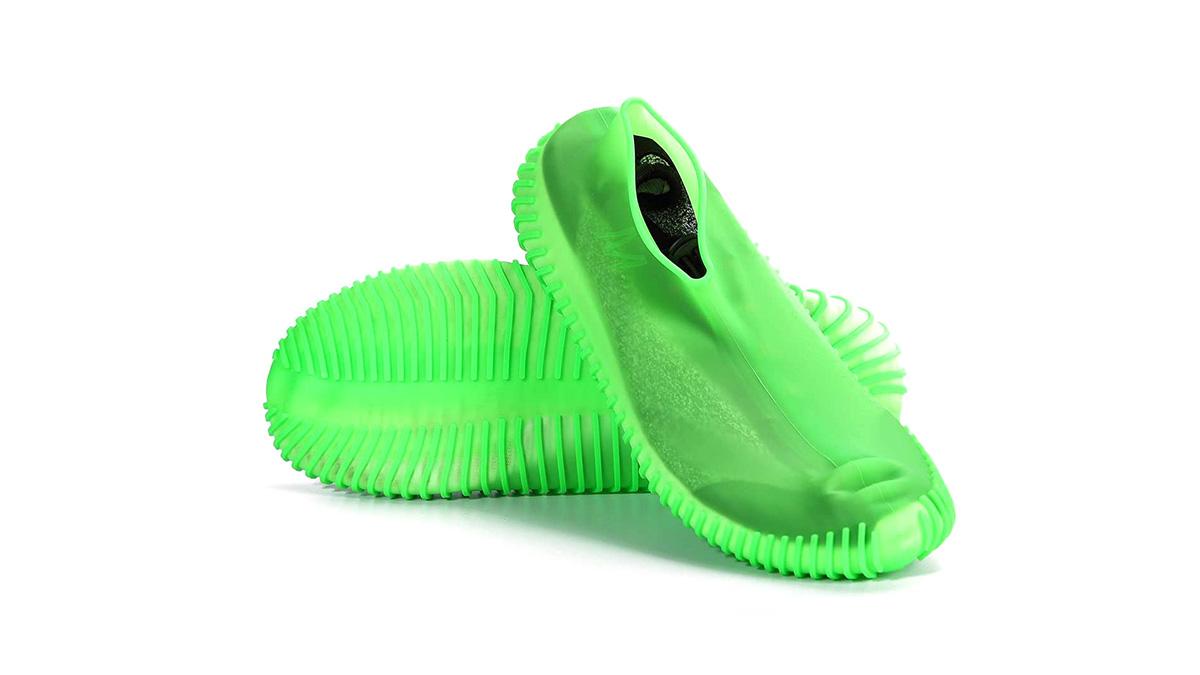 تخصيص سيليكون ماء غطاء الأحذية عدم الانزلاق مقاومة للماء overhes سيليكون المطاط المطر حذاء سيليكون غطاء حماة dh- سيليكون