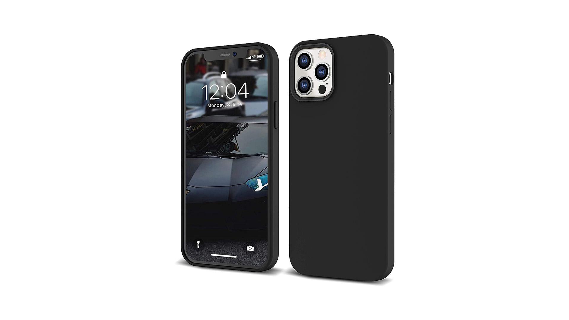 Accessoires de téléphone Silicone Coques iPhone Protection du corps Poproof Drop Doublure Soft Silicone caoutchouc 5.4inch Couverture de téléphone DH-Silicone