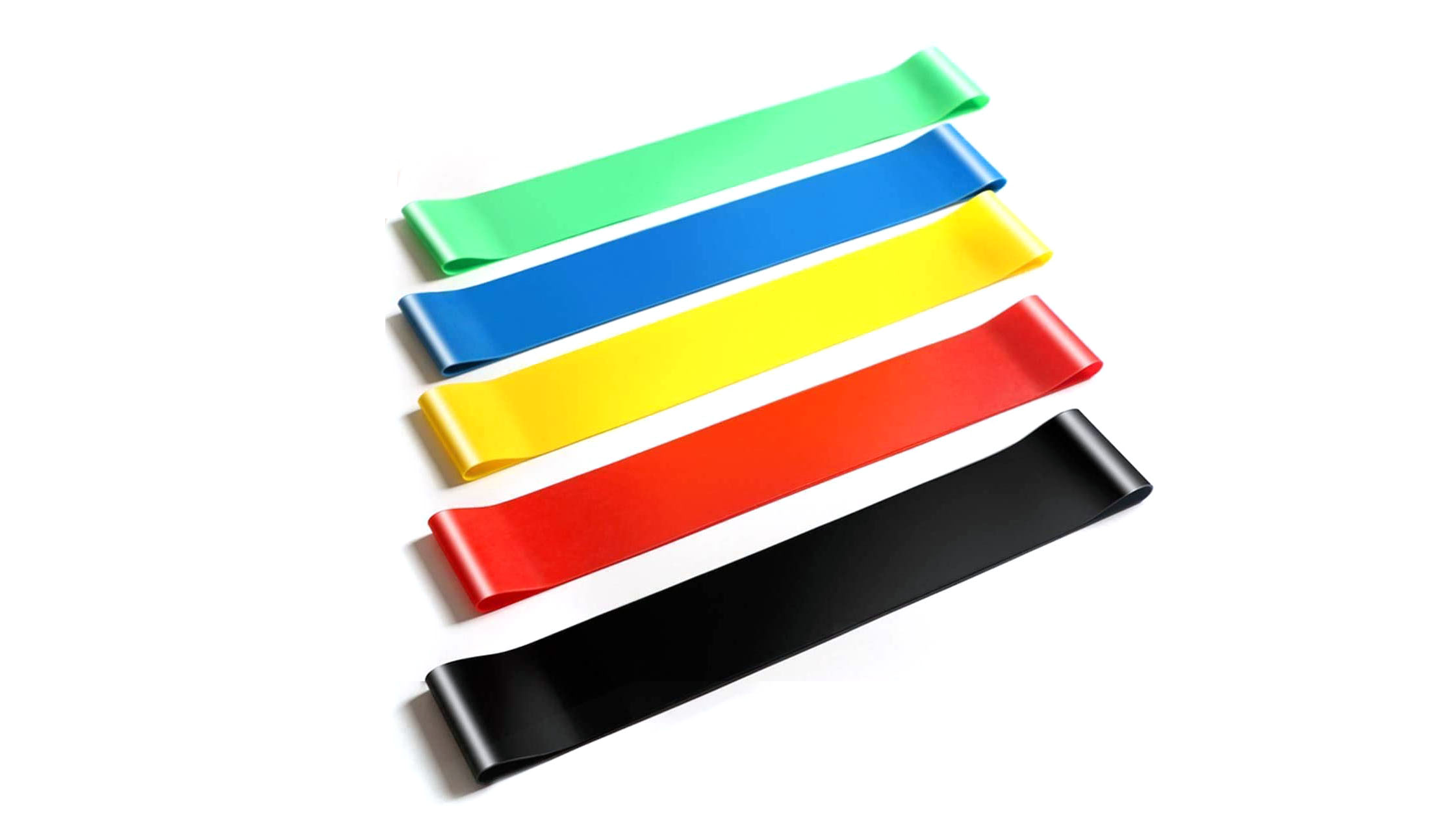 Fitnessband Non-Slip Durable Silicone Stretch Band Advanced Strength Training Resistance Bands Workouts Silicone Exercise Bands -DH-Silicone