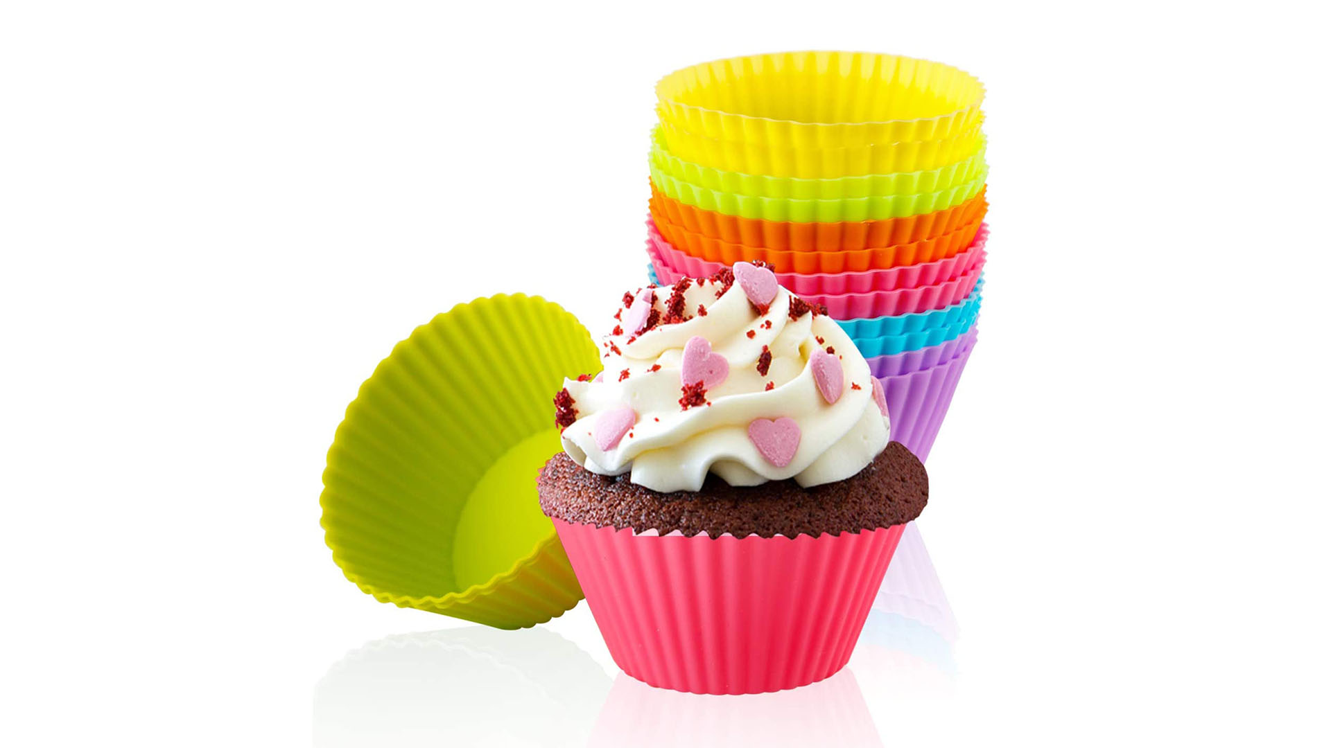 Factory Direct Silicone Cupcake Doublures Moules Cuisson Silicone Muffin Tasse Plateau Pas cher Cupcake Silicon Pan DH Silicone Fournisseur