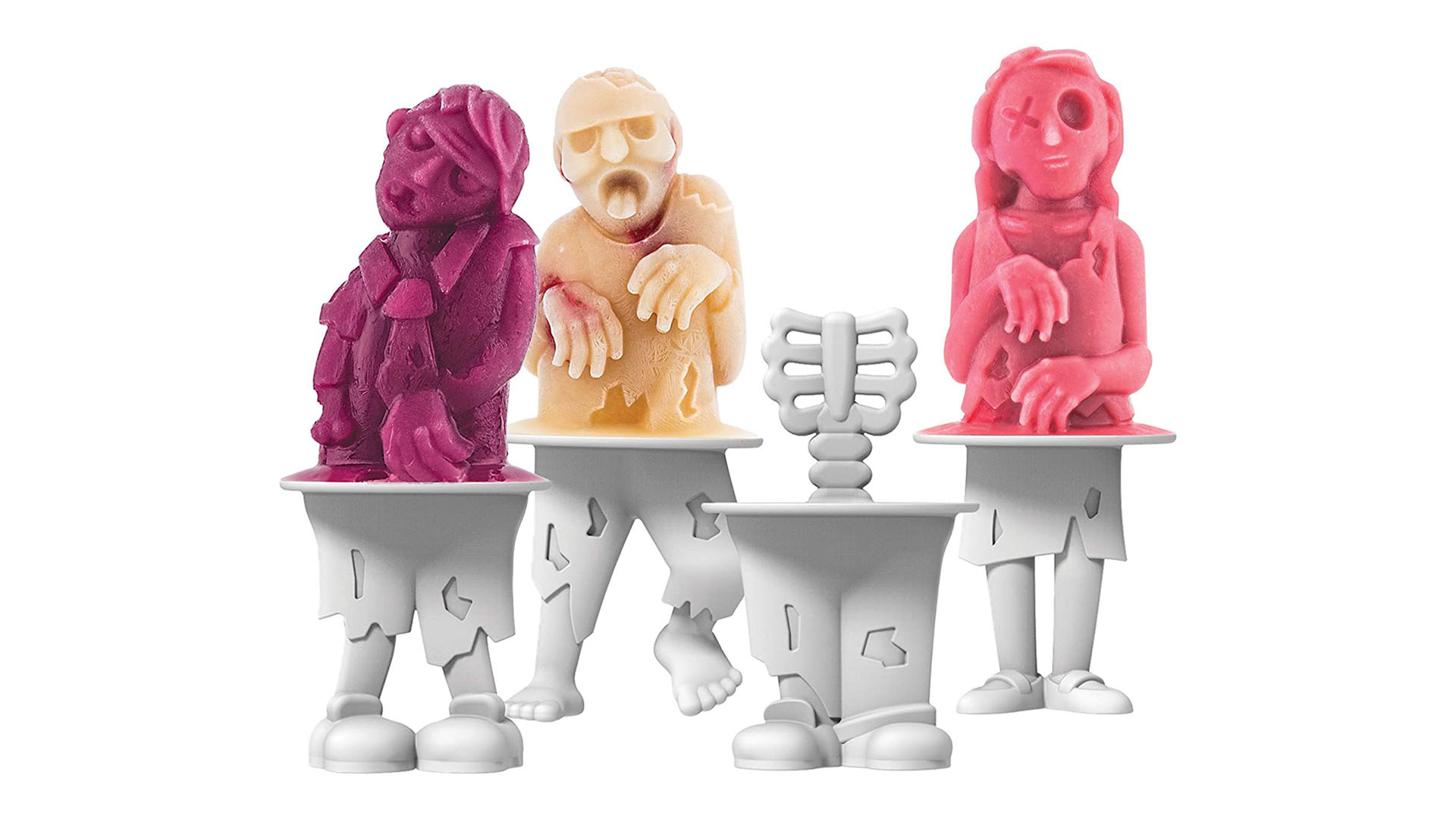 Zombies Silikone Popsicle Mould Maker
