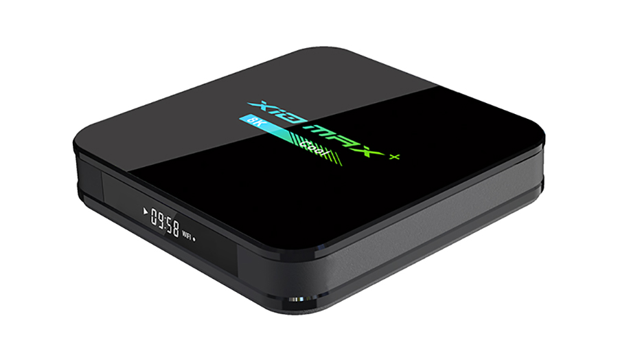 X10 MAX Plus TV Box Amlogic S905X3 Quad Core Soporte 8K 2.4G 5G WiFi 2GB 4GB 32GB opción Media player TV BOX FACTORY Utocin