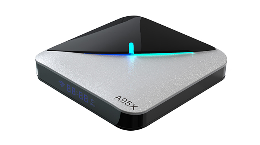 A95X F3 AIR RGB Licht Amlogic S905X3 8K TV Box Android 9.0 Original TV Box Hersteller China Utocin